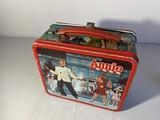 Vintage Metal Lunchbox Annie