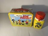 Vintage Metal Lunchbox  Wee Pals Kid Power