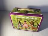 Vintage Metal Lunchbox Snow White