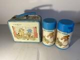 Vintage Metal Lunchbox Holly Hobbie