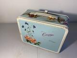 Vintage Metal Lunchbox Corsage