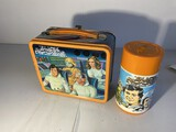 Vintage Metal Lunchbox Buck Rogers with Thermos