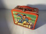 Vintage Metal Lunchbox Superman