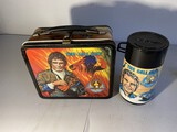 Vintage Metal Lunchbox The Fall Guy with Thermos