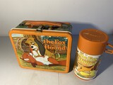 Vintage metal lunchbox The Fox and Hound