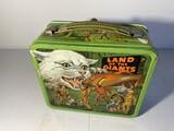 Vintage Metal Lunchbox - Land of Giants