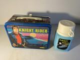 Vintage metal lunchbox - Knight Rider