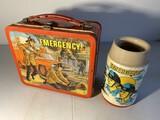 Vintage Metal Lunchbox - Emergency!