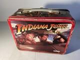 Vintage Metal Lunchbox - Indiana Jones