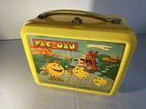 Vintage plastic lunchbox - Pac-Man