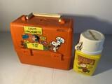 Vintage plastic lunchbox - Peanuts