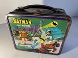 Vintage metal lunchbox - Batman and Robin