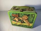 Vintage metal lunchbox - Tarzan