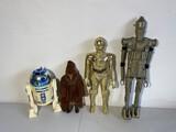 Group lot of 4 vintage Star Wars toys