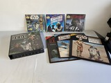 Group lot of Star Wars Records, tape set