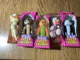 Group lot of Pez Dispenser Fuzzy Friends in Packaging