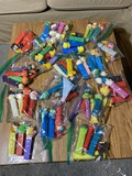 Large group lot assorted Pez dispensers