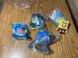 Spongebob Happy Meal toys in packaging