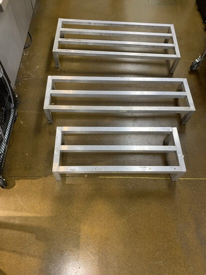 Aluminum Commercial Grade NSF Certified Dunnage Rack