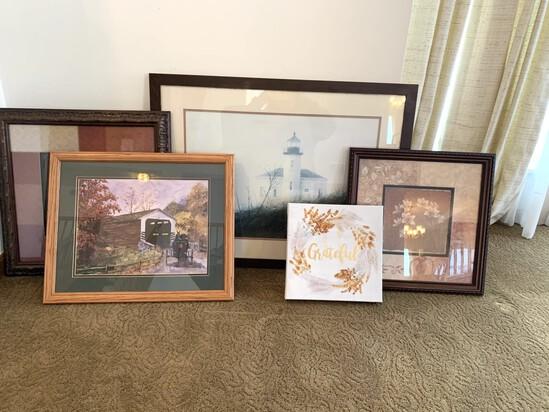 Group of Framed Prints