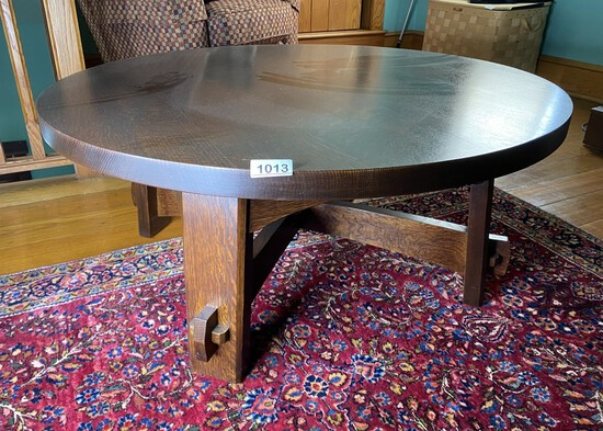 Stickley Arts & Crafts Oak Coffee Table