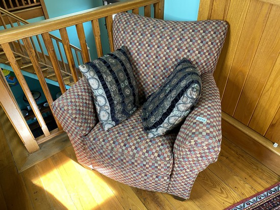 Nice upholstered Stickley Armchair