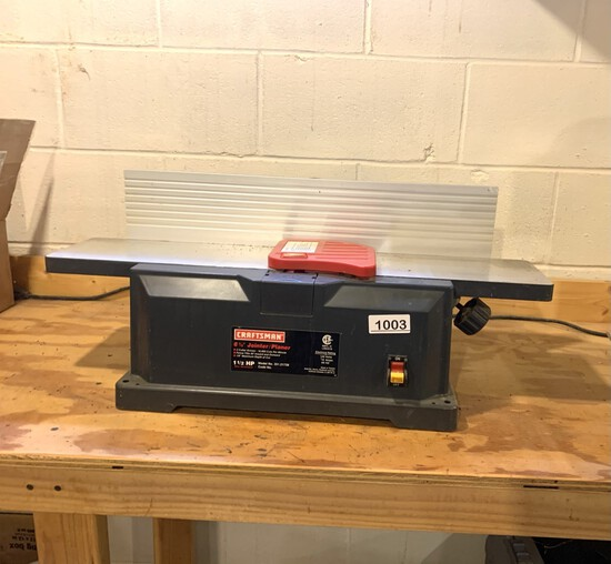 Craftsman 6 1/8 inch Jointer / Planer