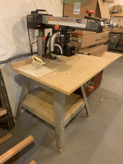 Craftsman Professional 10 inch. Radial Arm Saw with Laser Track