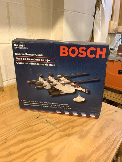 NEW BOSCH Deluxe Router Guide