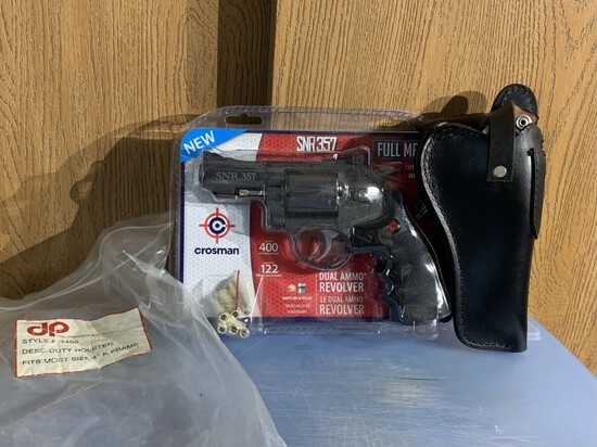New Crosman SNR357 BB Gun & Holster