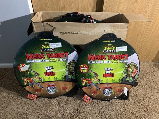 20 Mega Target Zombie Toys