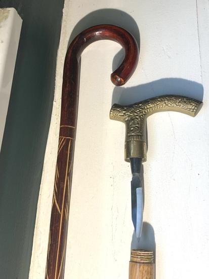Regular cane and knife cane lot