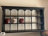 Wooden Shelf with Three Coffee Mug