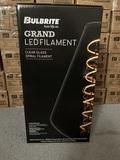 New Bulbrite Grand LED Filament Glass Light Bulb