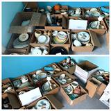 Large assortment of ceramics, pottery