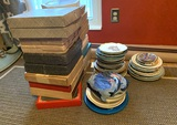 Large Group of Collector Plates