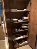 Cutting Mat, Office Supplies, 2 Shelves & Storage Cabinet with Keys