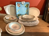 Large Group of Platters