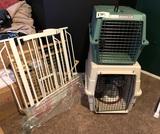 2 Animal Crates & Gates