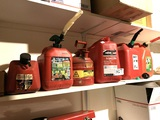 Group of Gas Cans