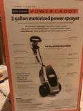 Power Sprayer Power Caddy