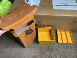 Plastic Fishing Seat Tackle Box Bait cooler