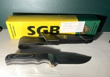 SGB Puma Knife in Sheath New in Box - Buffalo Skinner II German Steel