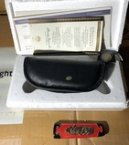 Franklin Mint Asian Style Collector knife in box - 7.5