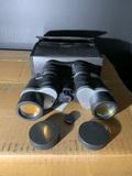 Pair of binoculars in case - Bosch- Optikon