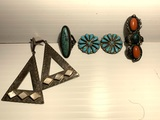 Group lot of better Native AMerican Jewelry
