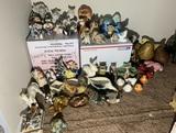 Large assortment of Animal Figurines