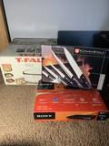 Kuchen Stolz New Knife Set, Sony DVD Player, & T-Fal Cooker