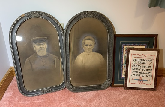 Group of Framed Art
