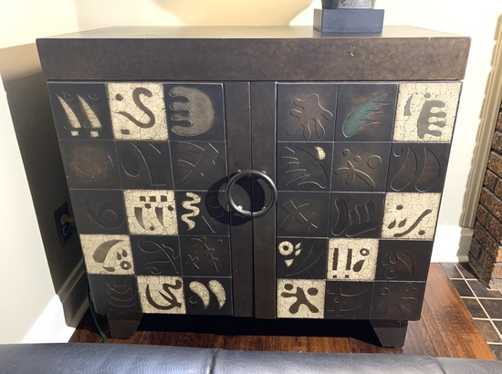 Oriental Style Storage Cabinet